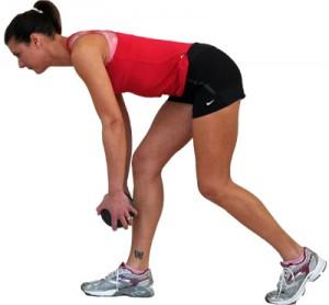 Становая тяга с упором на одну ногу