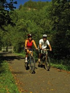 Велопрогулки дают нагрузку на бёдра, ягодицы и ноги