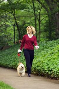 Пешие прогулки - самый доступный вид физических упражнений