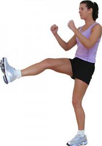 Кикбоксинг даёт нагрузку почти на все мышцы